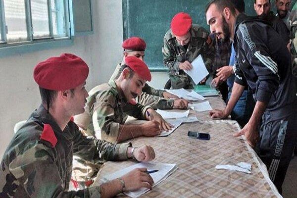 تداوم روند تحویل سلاح گروههای مسلح به ارتش سوریه در درعا