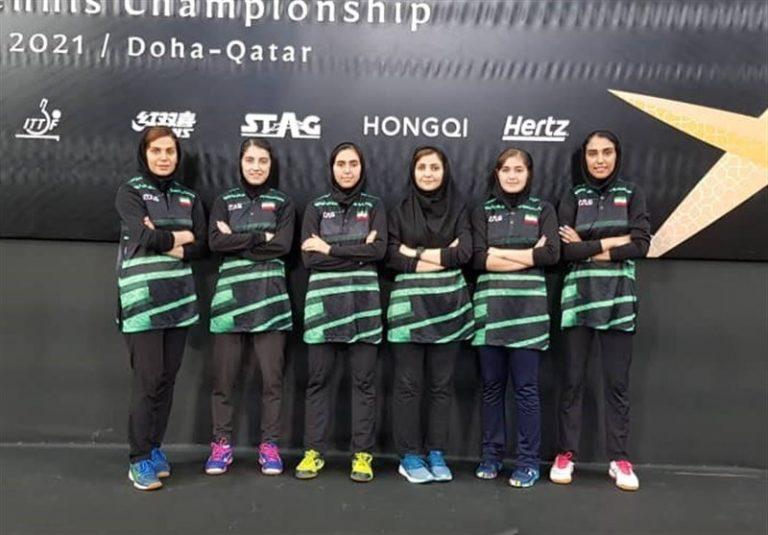 تنیس روی میز قهرمانی آسیا| شکست تیم بانوان ایران مقابل قزاقستان/ ازبکستان، آخرین حریف برای کسب رتبه نهم