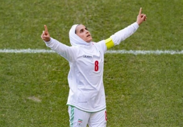 تمجید AFC از کاپیتان تیم ملی بانوان ایران