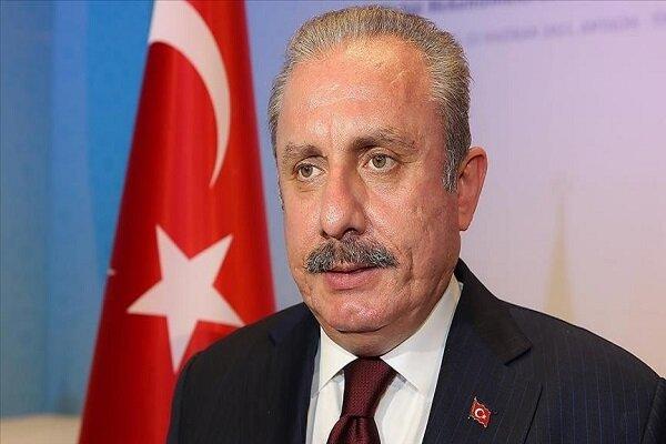 رئیس مجلس ترکیه به قزاقستان سفر کرد