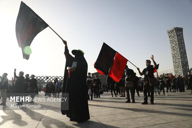ممنوعیتها و محدودیتهای ترافیکی راهپیمایی اربعین در تهران