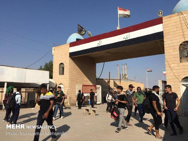 مرز شلمچه به شکل موقت به روی زائران ایرانی باز شده است