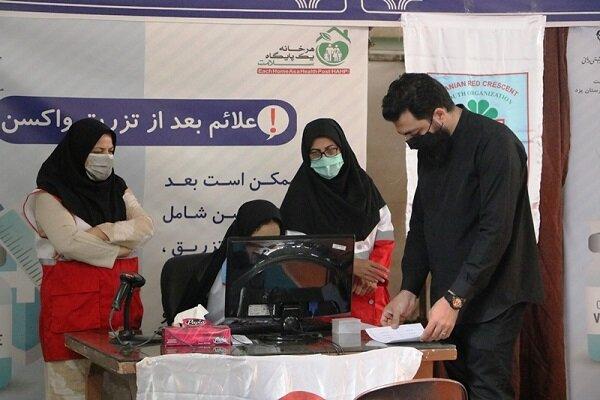 هلال احمر شهر یزد ۱۵ هزار نفر را علیه کرونا واکسینه کرد