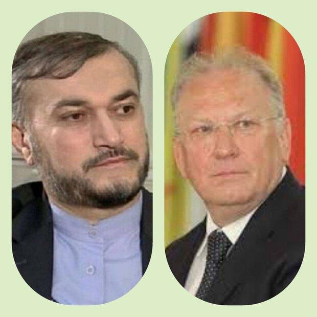 رایزنی وزرای خارجه ایران و بلغارستان/ تاکید بر توسعه روابط ۲ کشور