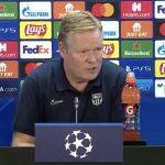 کومان: تقابل با دیناموکیف یک بازی حیاتی برای ما است/ نمیتوانیم از این بازیکنان بخواهیم قهرمان اروپا شوند