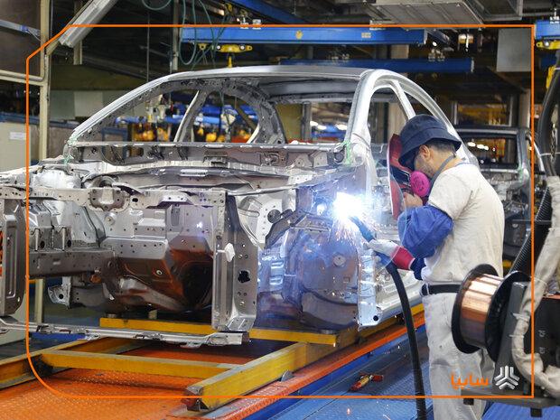 ۲۱۲ هزار خودرو در ۶ ماه تولید شد/ رشد ۵ درصدی تولید سایپا