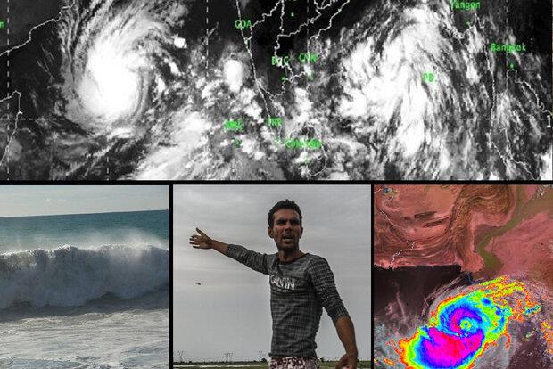 بلوچستان و هرمزگان زیر سایه طوفان/ «شاهین» بر فراز عمان بال گشود