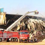 آتش سوزی شهرک صنعتی مأمونیه مهار شد