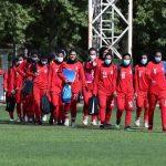 اردوی 10 روزه تیم ملی بانوان در بلژیک