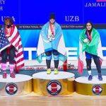 وزنهبرداری نوجوانان جهان| 3 مدال جهانی بر گردن یکتا جمالی